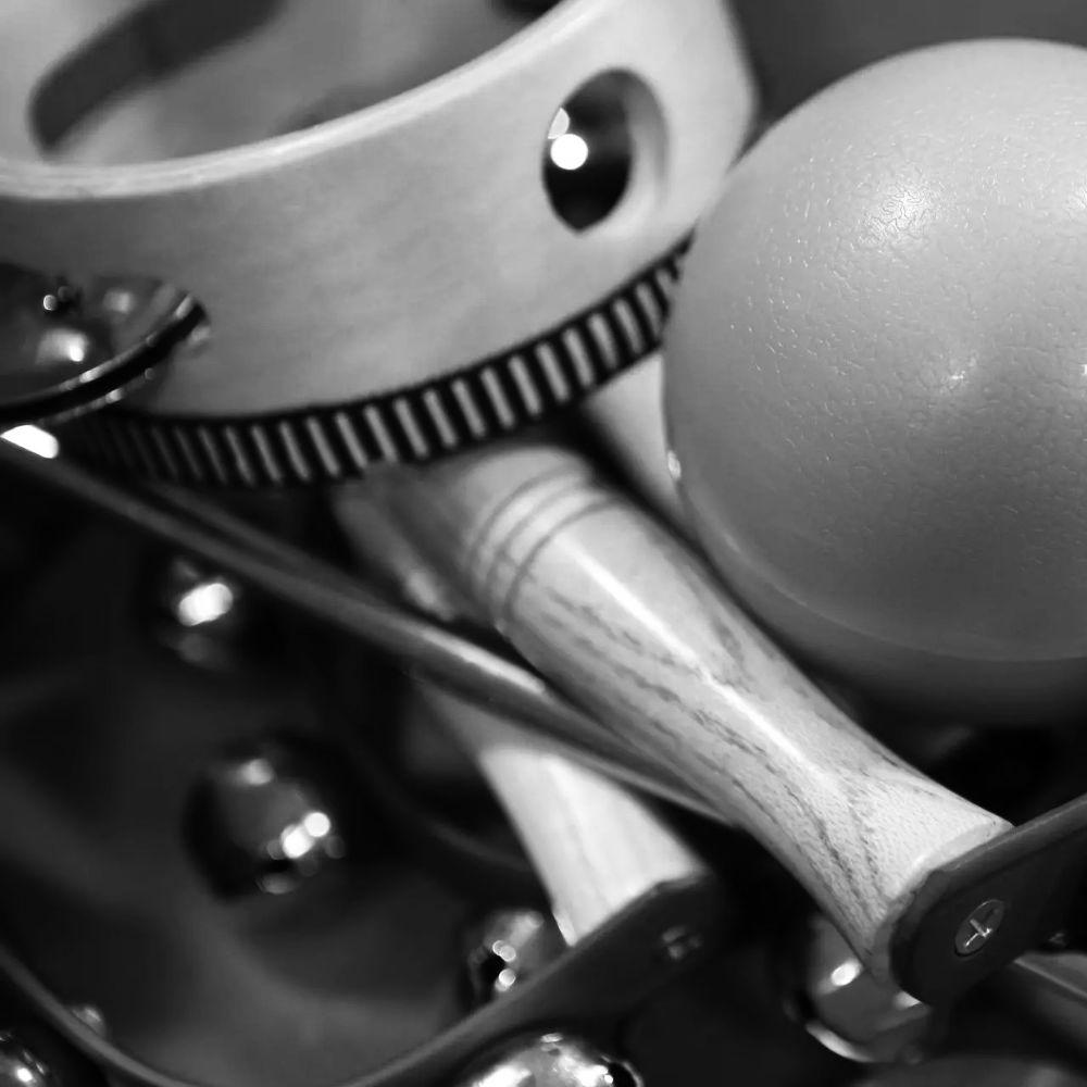 Musikalische Früherziehung - Bildausschnitt mit Percussioninstrumenten