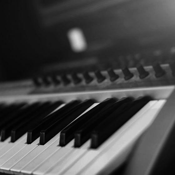 keyboardunterricht - Keyboard (Ausschnitt)
